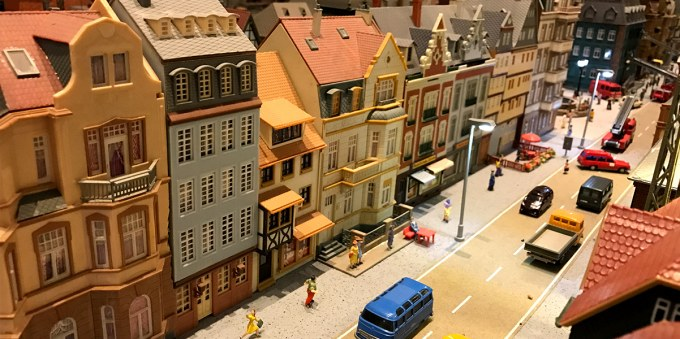 german miniature town