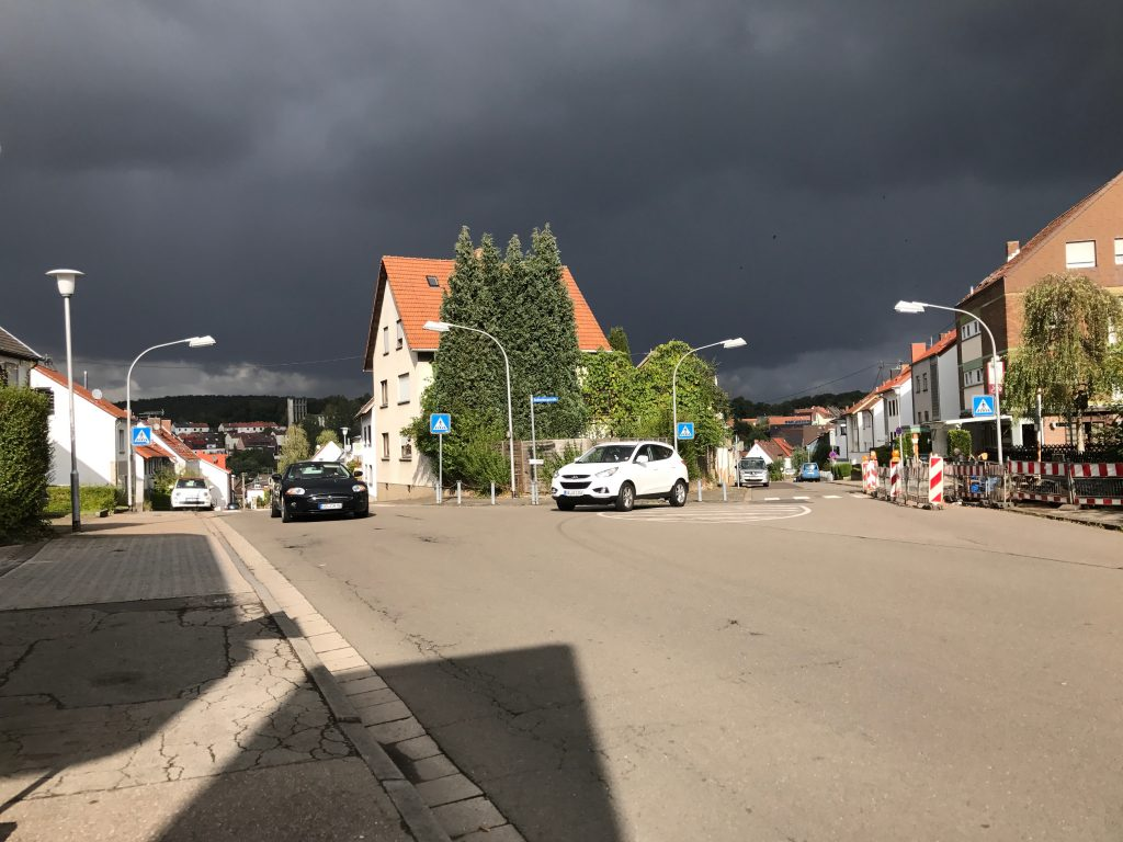 mixed weather germany
