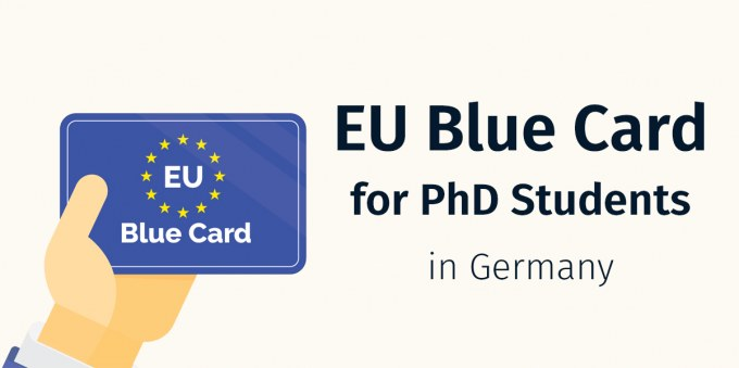 eu blue card for phd students