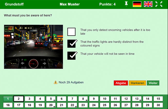 driving test germany