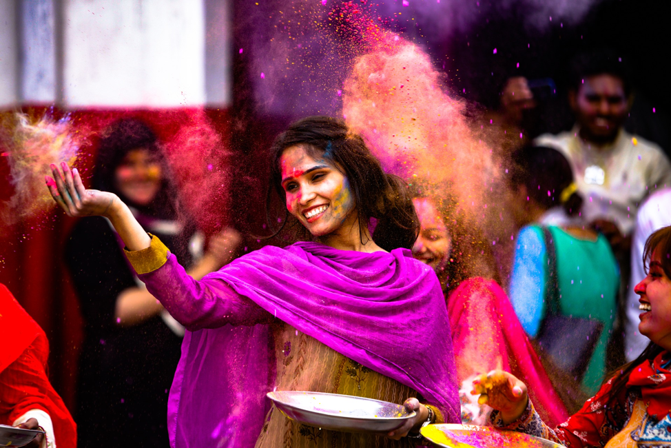 holi in germany