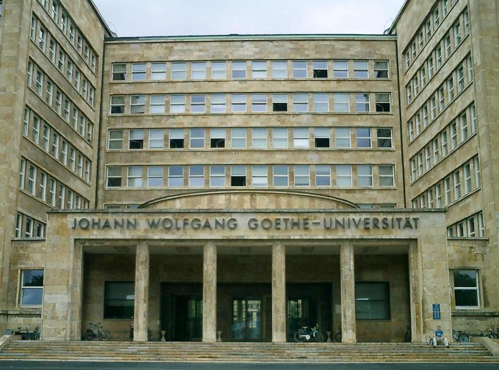 wolfgang goethe university