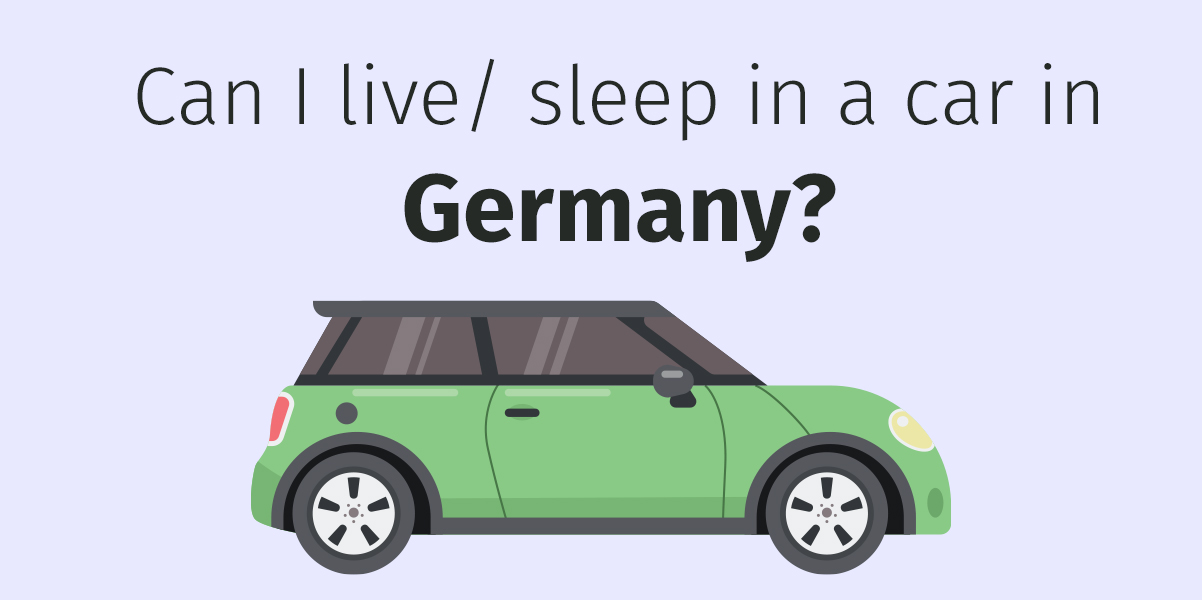 sleeping in car in germany